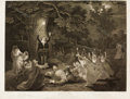Decorative Prints, European:Prints, TWO FRAMED COPPER PLATE ENGRAVINGS FROM MIDSUMMER NIGHT'S DREAM, AFTER JOHN BOYDELL'S WORKS OF WILLIAM SHAKESPEARE, LONDON, 17... (Total: 2 Items)