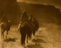 Photographs, EDWARD SHERIFF CURTIS (AMERICAN, 1868-1952). The Vanishing Race, 1904. Orotone, printed later. 11 x 14 inches (27.9 x 35...