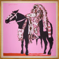 American Indian Art:Photographs, FANCY INDIAN. Fritz Scholder. c. 1972...