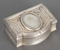 Silver Smalls:Snuff Boxes, A GERMAN SILVER AND SILVER GILT SNUFF BOX . Unidentified maker,Germany, circa 1890. Marks: (crescent), (crown), 800, (s...