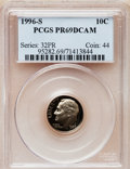Proof Roosevelt Dimes: , 1996-S 10C Clad PR69 Deep Cameo PCGS. PCGS Population (2039/125).Numismedia Wsl. Price for problem fre...