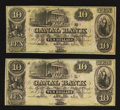 Obsoletes By State:Louisiana, New Orleans, LA- New Orleans Canal Banking Compy $10 Two Examples. ... (Total: 2 notes)