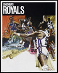 "Movie Posters:Sports, Basketball Poster Lot (Various, 1960s-70s). Posters (2) (23"" X 29""). Sports.... (Total: 2 Items)"