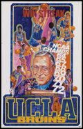 """Movie Posters:Sports, Basketball Poster Lot (Various, 1970s). Posters (2) (23"""" X 29"""" and """"22.5 X 35""""). Sports...."""