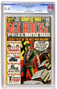 Our Army at War #229 (DC, 1971) CGC NM 9.4 Off-white pages