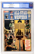 Bronze Age (1970-1979):Western, All-Star Western #10 (DC, 1972) CGC VF+ 8.5 Cream to off-white pages....