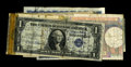 Most Interesting Short Snorter. Ten World War Two era notes comprise this Short Snorter. The back of the $1 North Africa...