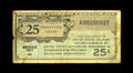Series 461 25¢ Replacement Very Good. This is a new note for the Schwan census that currently stands at only eight...