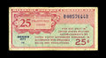 Series 471 25¢ Replacement Fine. Only six issued replacements were documented before the appearance of this note. T...