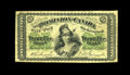 Canadian Currency: , DC-1a 25¢ 1870. This Fine example is evenly circulated for thegrade....