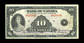 Canadian Currency: , BC-7 $10 1935. Decent centering is seen on this light circulatedEnglish text example. Very Fine....