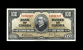 Canadian Currency: , BC-27b $100 1937 The serial numbers exhibit strong embossing though there is a hint of handling. Choice Crisp Uncirculated...