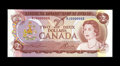 Canadian Currency: , Low Serial Number BC-47a $2 1974 Gem CU. This well preserved $2 hasserial number RJ0000003....
