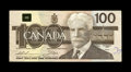 Canadian Currency: , BC-60a-i $100 1988 Fine-Very Fine.. This is the first Canadian mismatched serial number note we have handled. The rarity of ...
