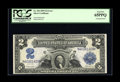 Fr. 256 Series 1899 $2 Silver Certificate PCGS Gem New 65PPQ Misaligned Back. This note was in the A plate position and...