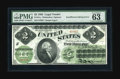 Error Notes:Large Size Errors, Fr. 41a $2 1862 Legal Tender PMG Choice Uncirculated 63. This error was originally in our February 2005 Taylor Family Collec...