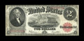 Fr. 60 $2 1917 Legal Tender Inverted Reverse Fine. This is a nice mid-grade Invert with even wear and problem-free for t...
