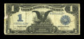 Error Notes:Large Size Inverts, Fr. 233 $1 1899 Silver Certificate Very Good. This is an evenly circulated note with a slight paper skin at left on the fron...