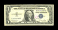 """Error Notes:Inverted Reverses, Fr. 1614 $1 1935E Silver Certificate. Fine.. The back is invertedon this exmple that has a penned """"17"""" in red ink on the fa..."""