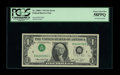 Error Notes:Inverted Third Printings, Fr. 1908-C $1 1974 Federal Reserve Note. PCGS Choice About New58PPQ.. A light center fold is noticed on this pleasing Type ...