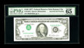 Error Notes:Inverted Third Printings, Fr. 2168-J $100 1977 Federal Reserve Note. PMG Gem Uncirculated 65EPQ.. Simply a gorgeous example of this eye-popping error...