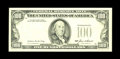 Error Notes:Missing Third Printing, Fr. 2171-L $100 1985 Federal Reserve Note. Gem Crisp Uncirculated.. The entire third printing is missing from this well pres...