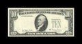 Error Notes:Third Printing on Reverse, Fr. 2024-L $10 1977A Federal Reserve Note. Gem Crisp Uncirculated.. This lovely example with its third printing on the back ...