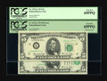 Error Notes:Shifted Third Printing, Fr. 1973-L $5 1974 Federal Reserve Notes. Two Consecutive Examples PCGS Gem New 65PPQ.. The first note in this duet has the ... (Total: 2 notes)