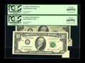 Error Notes:Foldovers, Fr. 2032-J $10 1995 Federal Reserve Notes. Two Consecutive ExamplesPCGS Gem New 66PPQ.. The first of these gorgeous notes e... (Total:2 notes)