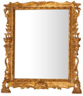 Paintings, GILT WOOD AND GESSO FRAMED MIRROR . 20th century . 37 x 32 inches (94.0 x 81.3 cm). ...
