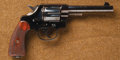 Handguns:Double Action Revolver, *Exceptional U.S.M.C. Colt New Service Model 1909 Double Action Martial Revolver....