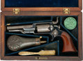 Handguns, Cased Colt Model 1855 Root Side-Hammer Pocket Revolver together with Accessories....