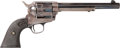 Handguns:Single Action Revolver, Colt Frontier Six-Shooter Single Action Army Revolver...