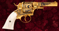 """Rare and Exceptional Cased """"Bulldog Style"""" Double Action Revolver"""