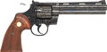 Handguns:Double Action Revolver, **Cased and Factory Engraved Colt Python Double Action Revolver....