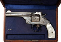 Cased English Engraved Smith & Wesson Double Action Revolver made for the Argentine Market, Circa 1881