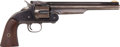"""Handguns:Single Action Revolver, Rare Low Serial Number Smith & Wesson Model 3 First Model American """"Oil Hole"""" Single Action Revolver...."""