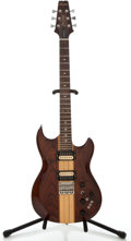 Musical Instruments:Electric Guitars, 1970's Aria Pro II Thor Sound TS-500 Natural Solid Body ElectricGuitar, #2070676....