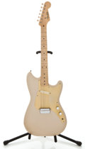 Musical Instruments:Electric Guitars, 1956 Fender Musicmaster Desert Sand Solid Body Electric Guitar,#13408....