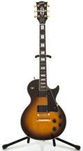 Musical Instruments:Electric Guitars, 1993 Gibson Les Paul Custom Sunburst Solid Body Electric Guitar,#90483401....