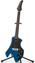 Musical Instruments:Electric Guitars, 1983 Gibson Corvus II Blue Electric Guitar, Serial # 81153558 ...