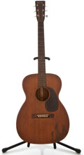 Musical Instruments:Acoustic Guitars, 1945 Martin 0-17 Mahogany Acoustic Guitar, #96178....