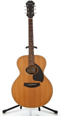 Musical Instruments:Acoustic Guitars, 1970's Epiphone NO-180 Natural Acoustic Guitar, #470286....