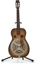Musical Instruments:Resonator Guitars, 1934 Dobro Roundneck Sunburst Resonator Guitar, #6314....