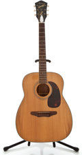 Musical Instruments:Acoustic Guitars, 1960's Harmony H1260 Natural Acoustic Guitar....