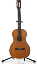 Musical Instruments:Acoustic Guitars, 1930's Regal Style Parlor Natural Acoustic Guitar....