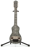 Musical Instruments:Lap Steel Guitars, 1950's Harmony MOTS Lap Steel Guitar....
