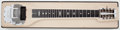 Musical Instruments:Lap Steel Guitars, 1950's Fender 400 Tan Pedal Steel Guitar, #00491....