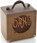 Musical Instruments:Amplifiers, PA, & Effects, 1940's Oahu Lap Steel Guitar Amplifier....