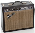 Musical Instruments:Amplifiers, PA, & Effects, . 1966 Fender Vibro Champ Blackface Guitar Amplifier, Serial#A11483....